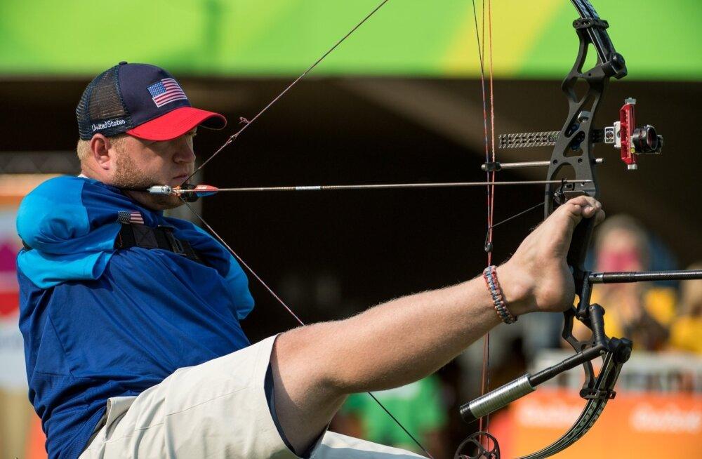 FOTOD: Kätetu vibulaskja jahmatas teist paraolümpiat järjest maailma