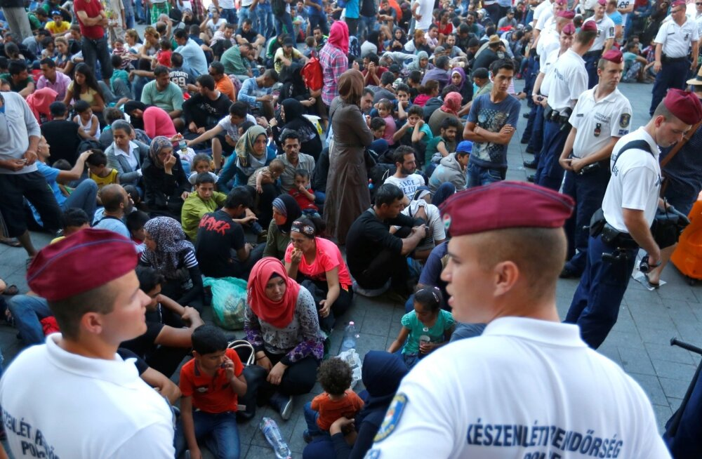 Ungari politsei kahe aasta eest Budapesti rongijaama saabunud migrantidega