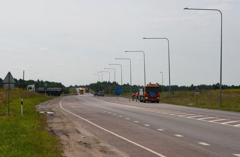 Harju maakonnas on kahes paigas liikluspiirangud