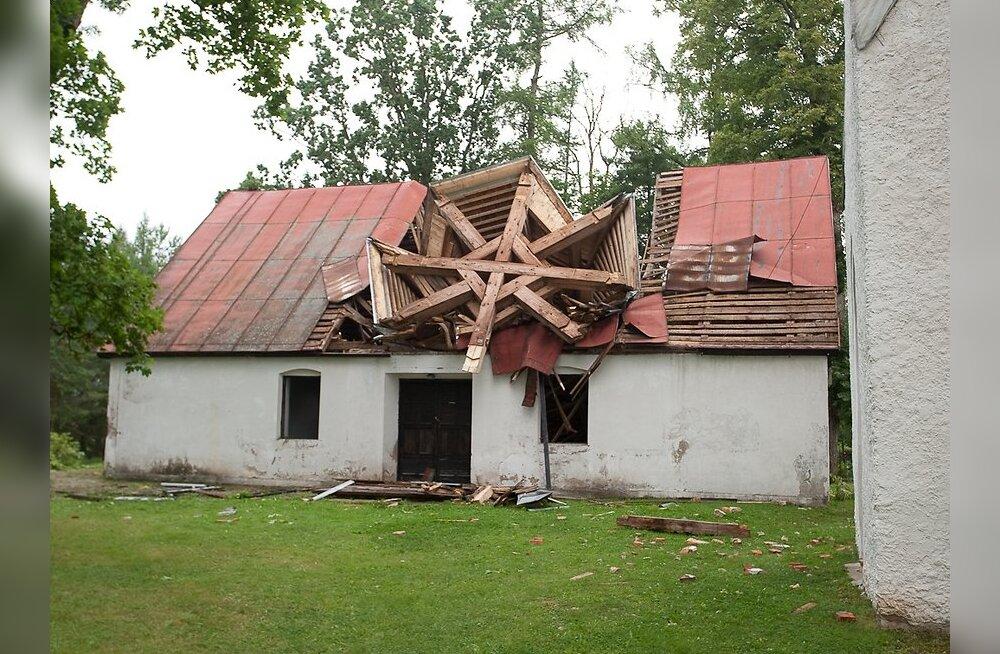 Väike-Maarja kirikutorni taastamiseks saab teha annetusi