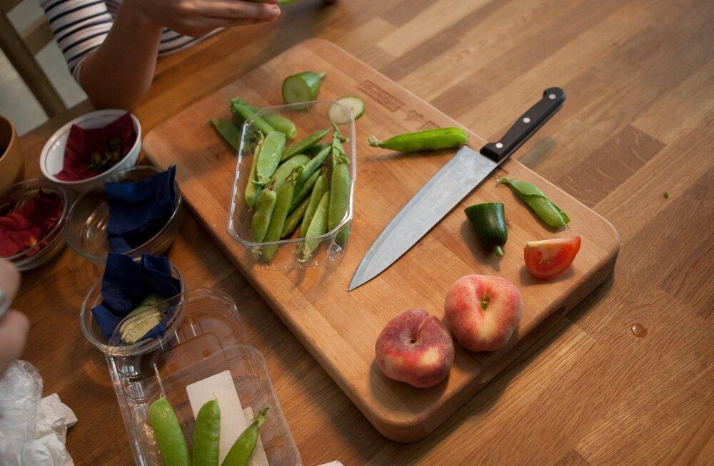 Ka köögiviljad võivad baktereid levitada