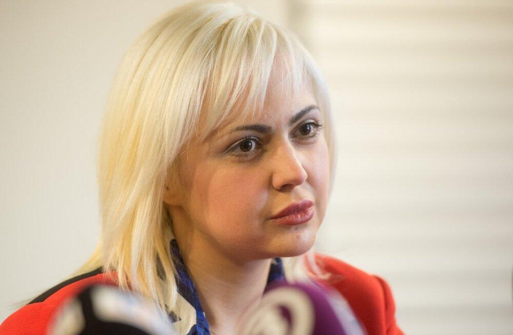 Anna-Maria Galojani pressikonverents