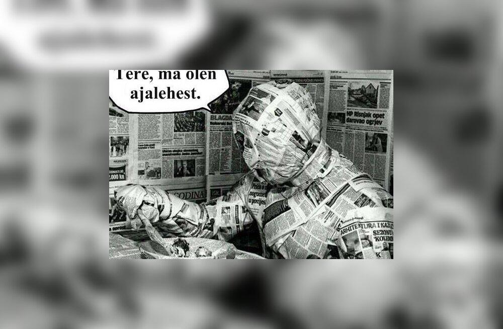 Ma olen ajalehest