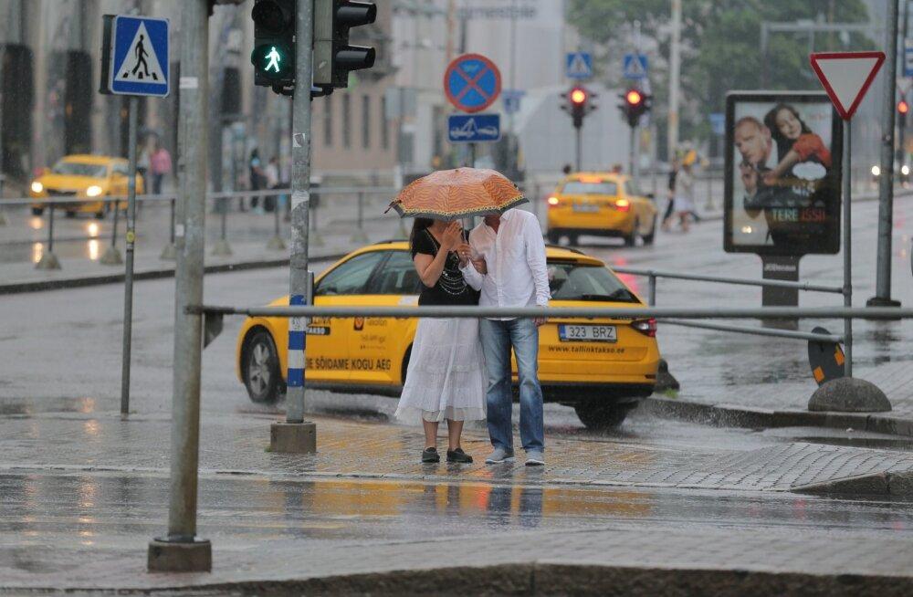Uus nädal tuleb kõle ja vihmane