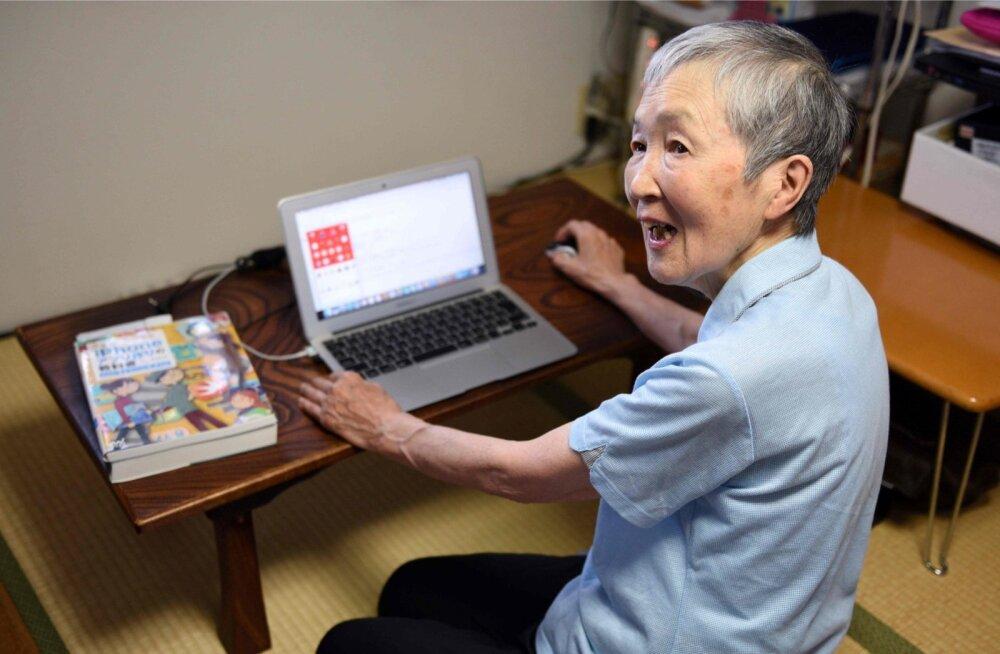 Vanus ei tähenda midagi. 82-aastane jaapanlane Masako Wakamiya naudib oma tööd, ta on vanematele inimestele mõeldud iPhone'i äppide arendaja.