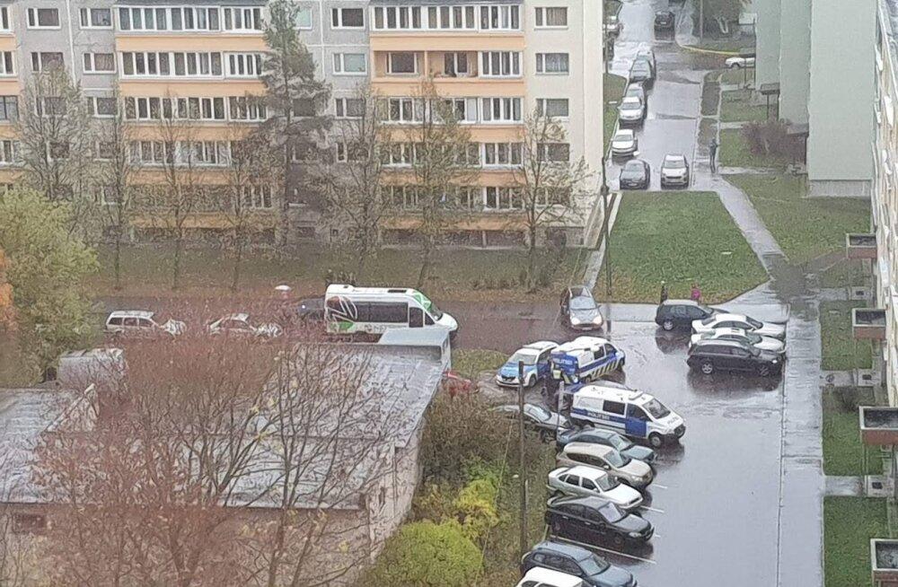 В Ласнамяэ двое напали на мужчину, затащили его в автомобиль и увезли. Подозреваемые задержаны