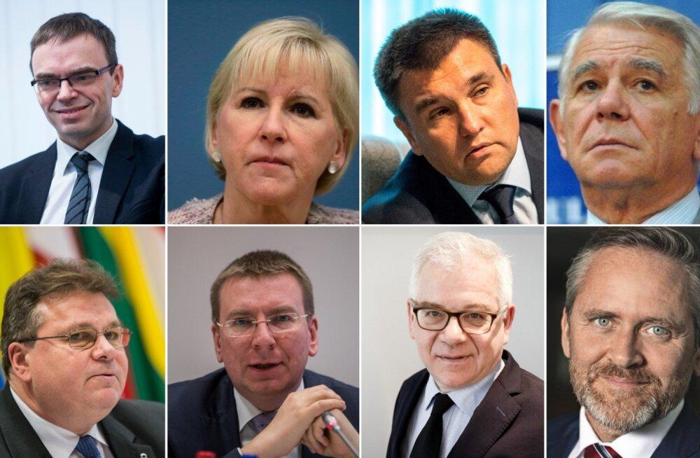 Kaheksa riigi välisministrite ühisavaldus: ka neli aastat hiljem ei unusta me ebaseaduslikult okupeeritud Krimmi