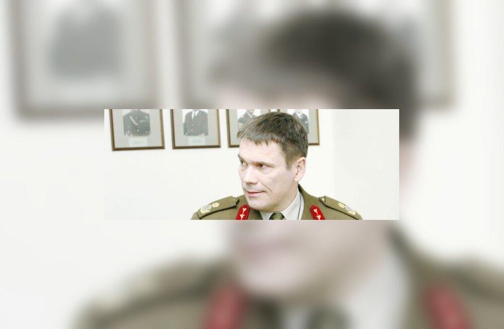 Kaitsevägi koondab brigaadikindral Lanemani