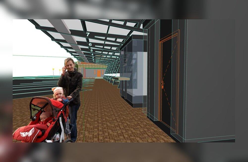 ФОТО: Реконструкция вокзала обойдется Нарве существенно дороже, чем предполагалось изначально