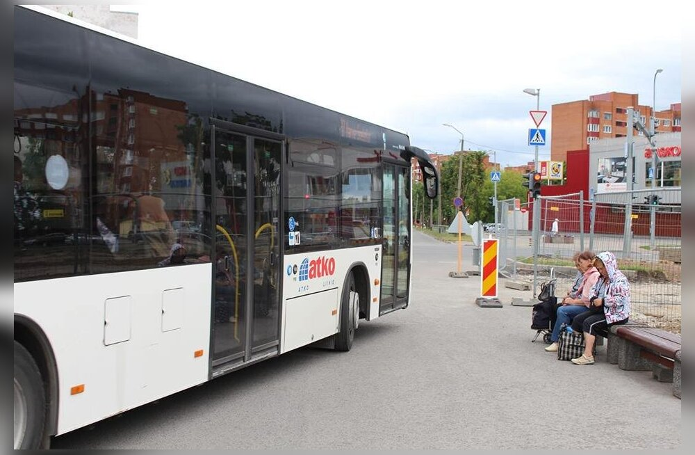 Общественный уездный транспорт стал бесплатным: расписания в Ида-Вирумаа пока прежние, но могут измениться