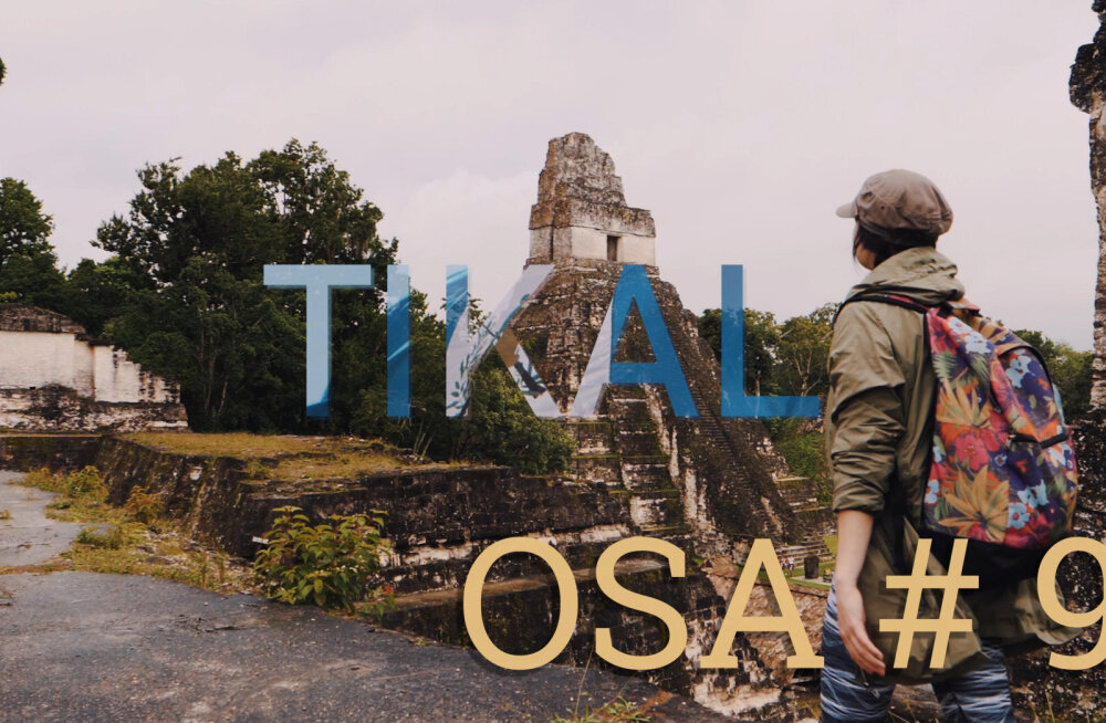 MÜSTILINE GUATEMALA | Müstiline ja iidne maiade linn Tikal