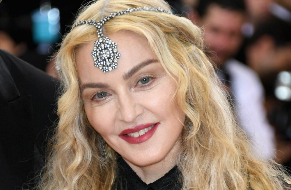 Madonna arrives at The Metropolitan Museum of Art Costume Institute Benefit Gala