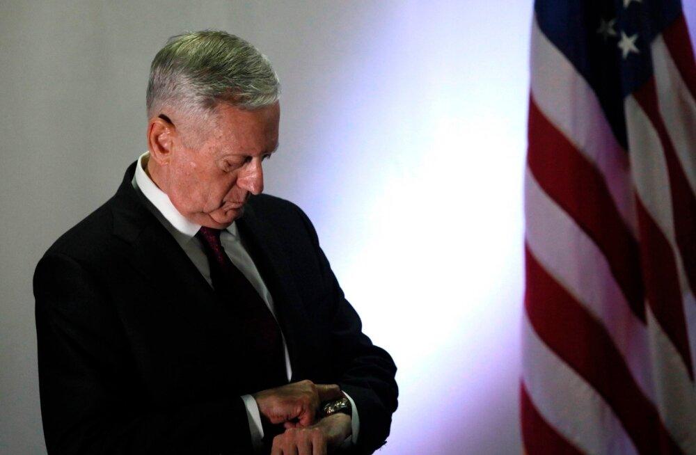 USA kaitseminister Mattis: Põhja-Korea peab lõpetama tegevuse, mis viib tema rahva hävinguni