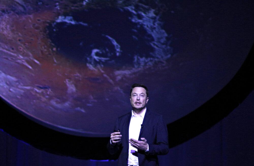 Elon Muski nägemus Marsist: saja aasta pärast on punasel planeedil miljoni inimesega linn