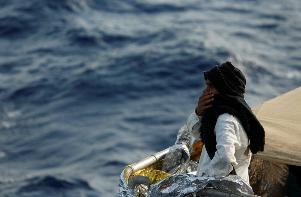 Tänavu pürib üle Vahemere Itaaliasse rekordiliselt migrante.