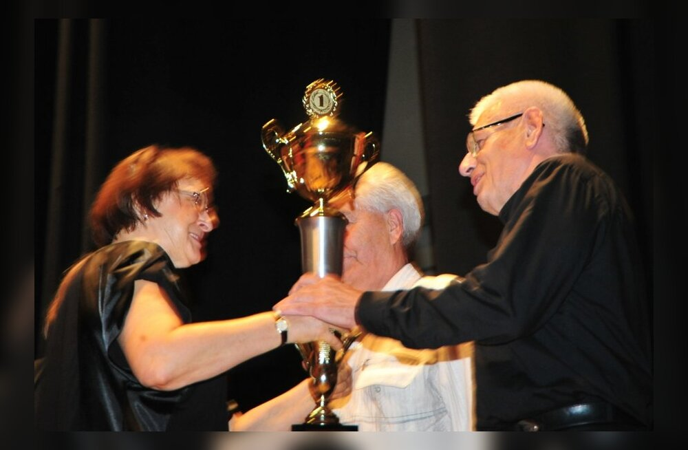 Akordioniorkester Baltic Tremolo pälvis Itaalias peapreemia