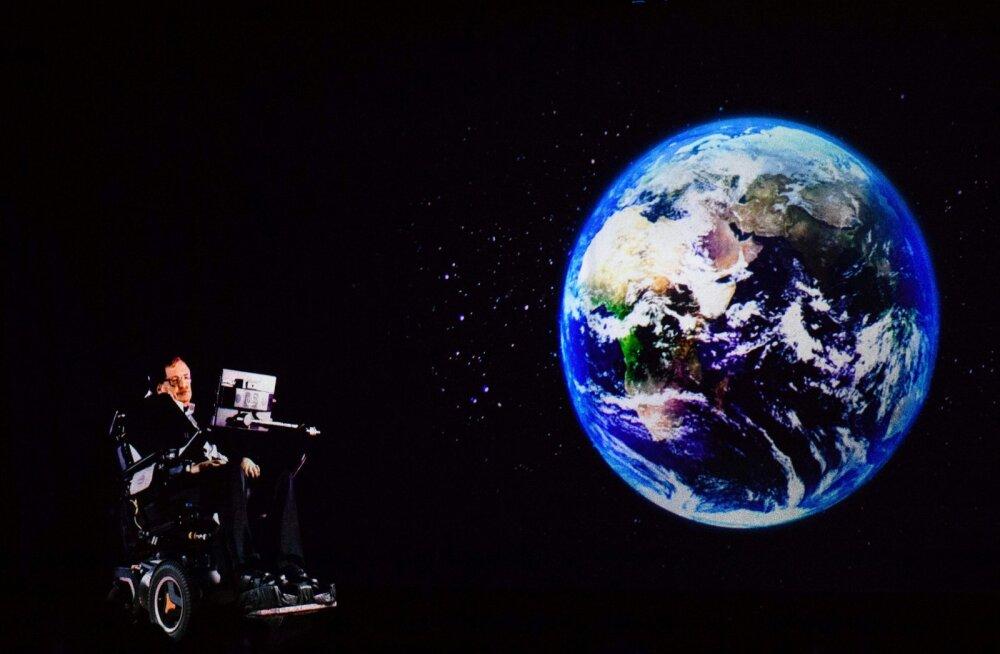 Stephen Hawking on Elon Muskiga sama meelt: inimesed peavad kiiremas korras Maalt lahkuma