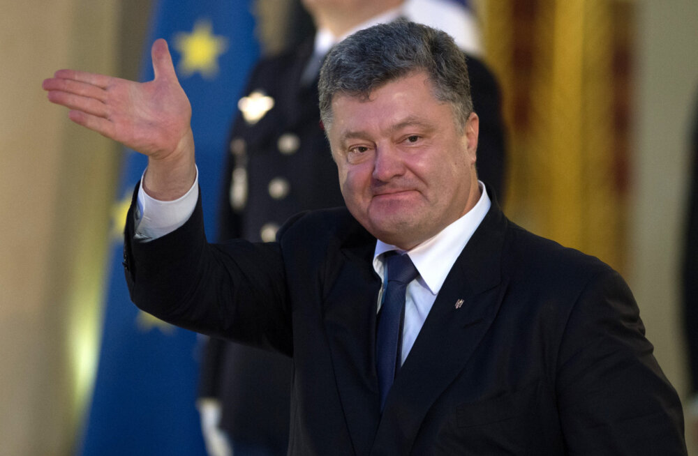Ukraina president Petro Porošenko nõuab, et Putin vabastaks Ukraina poliitvangid