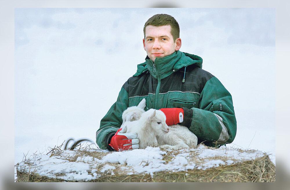 Noor Eesti kitsekasvataja tutvustas Euroopas oma farmi