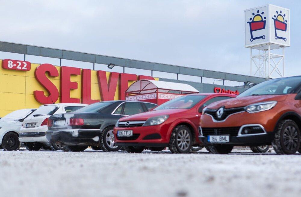 MEIE MAA   Enim kindlustusjuhtumeid Selveri ja Automaailma parklas