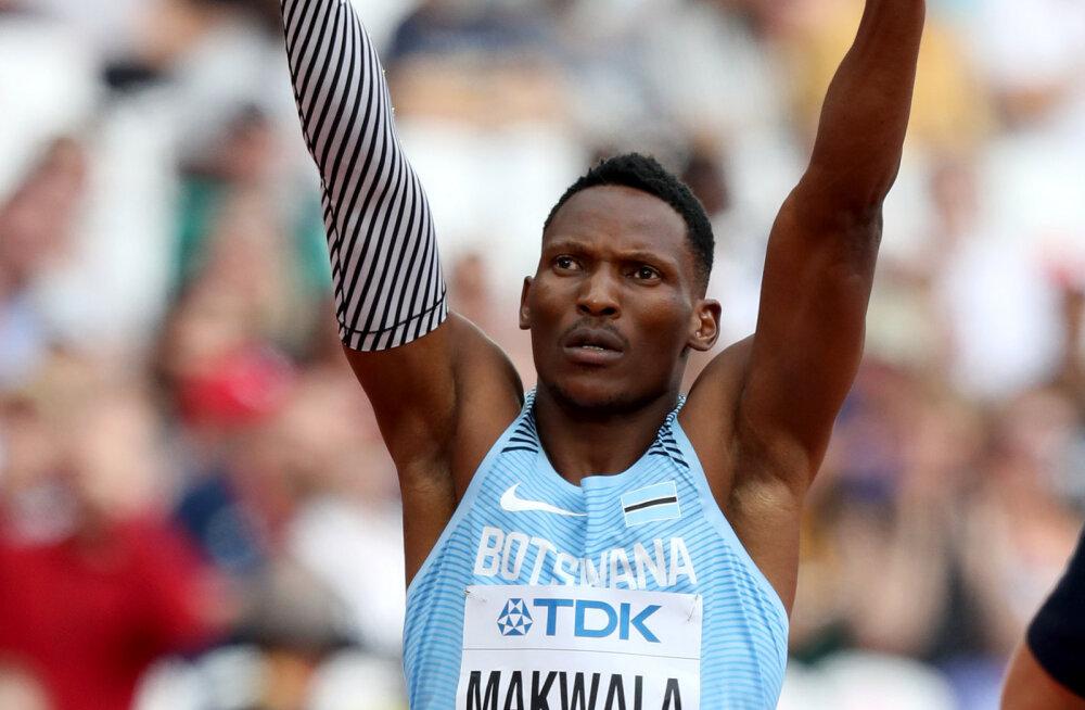 Sunniviisiliselt 400 meetri finaalist kõrvale jäetud Makwala juhtum kütab kirgi
