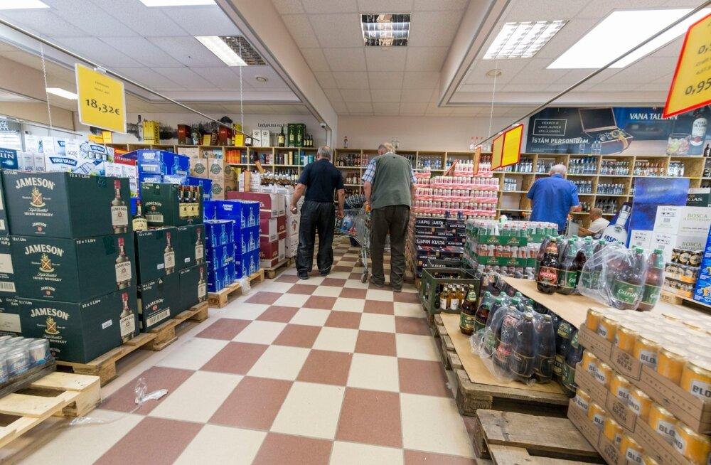 Õllejoojad jätavad riigieelarve kuivale