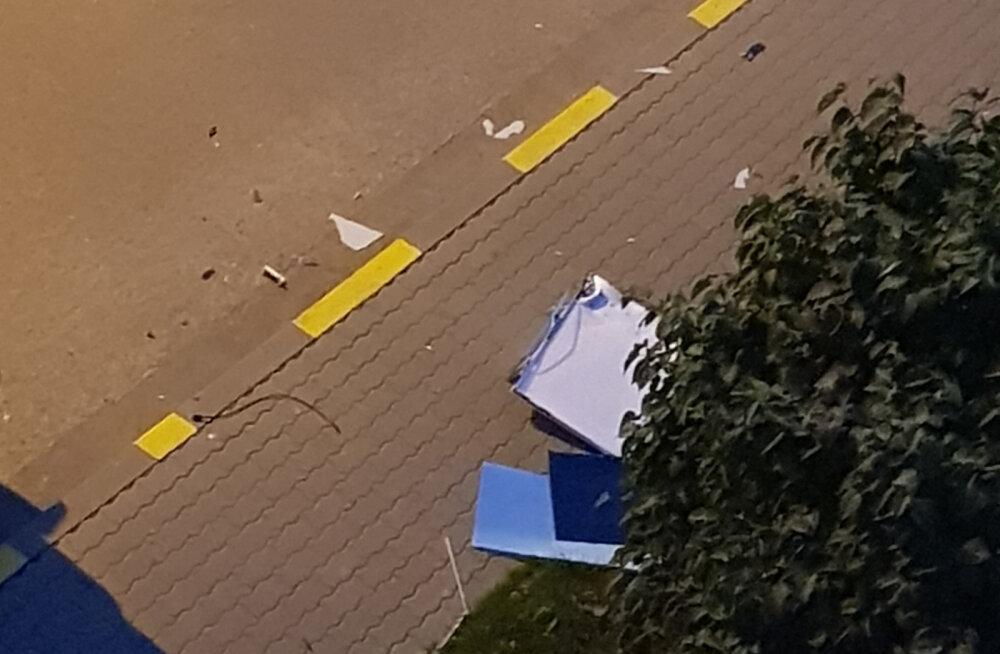 PILTUUDIS | Pettunud fänn viskas Maardus Venemaa kaotuse järel televiisori viienda korruse aknast välja