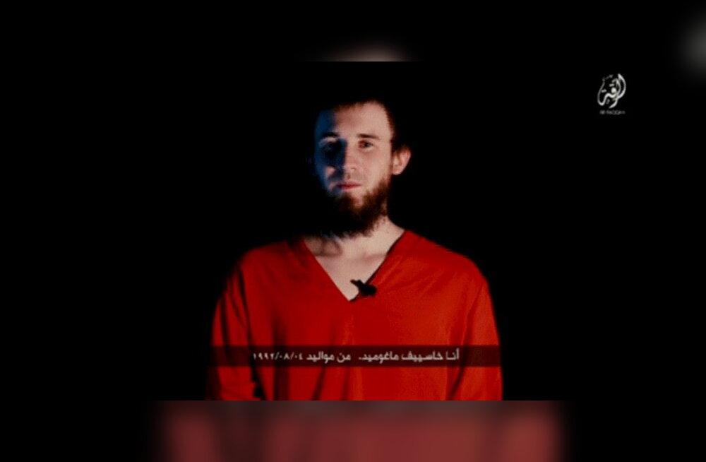 """ISISe propagandavideos tapetud Venemaa """"spiooni"""" topeltelu: kellele eeskujulik muslim, kellele Vene päritolu julgeolekutöötaja"""