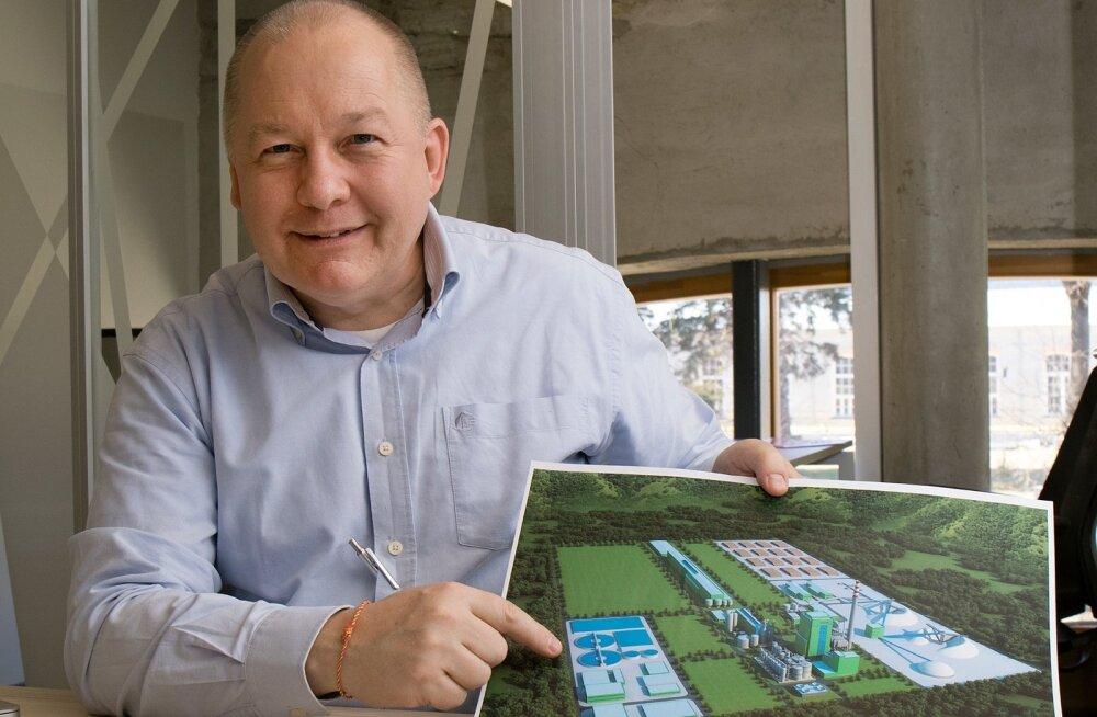 Daniel Paalsson näeb Eestis puidurafineerimisel tulevikku, sest toorainet siinmail jagub ning kasvav nõudlus pakendipapi ja -paberi järele näib maailmas üha hoogustuvat.