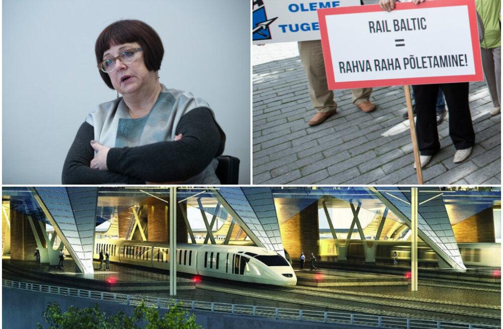 Rail Balticu tegevjuht: Balti riikide esindajad üritavad kallutada Rail Balticut oma rahakoti suunas