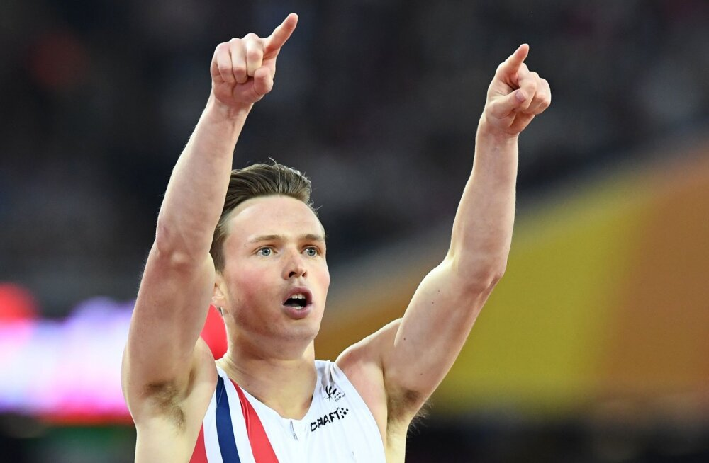Rasmus Mägita 400 meetri tõkkejooksu finaali võitis üllatajast norralane