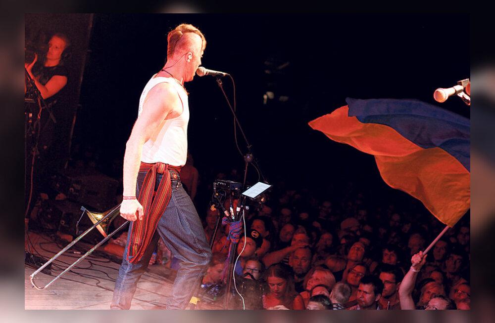 Viljandi folgil kõlas muusika, mis haaras rahva kaasa