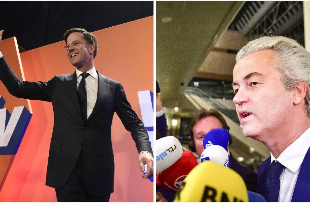 BLOGI: Hollandi valimistel lõid valitsevad liberaalid Wildersi parempopuliste