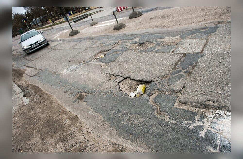 Maanteeamet võtab pealinna ebatasased tänavad uurimise alla