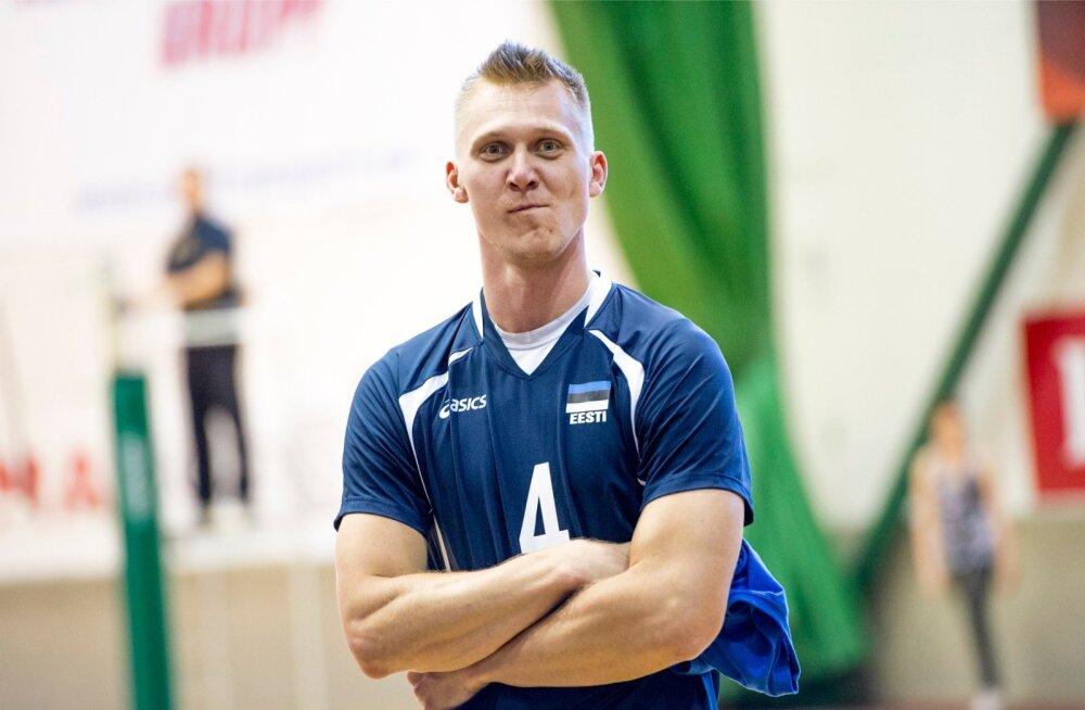 Ardo Kreek on Eesti võrkpallikoondise raudvara.