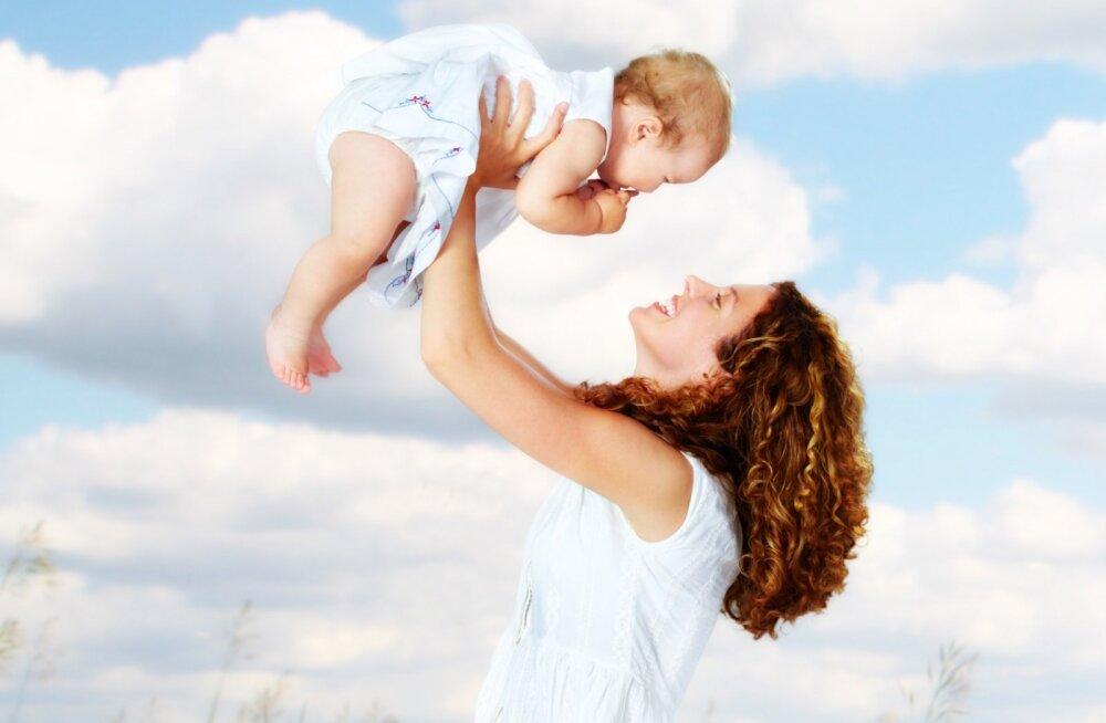 Lapse arengu ABC: sünnist kolmanda eluaastani