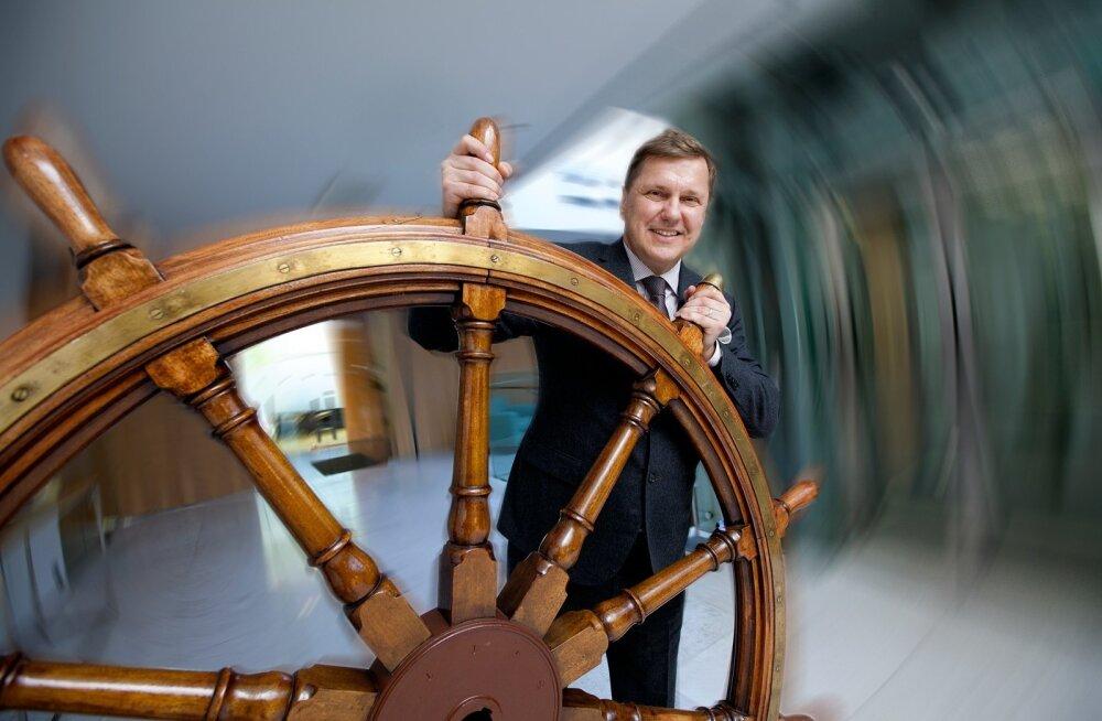Ain Hanschmidti sõnul ostab Tallink 2017. aasta suvel valmiva kiire liinilaeva.