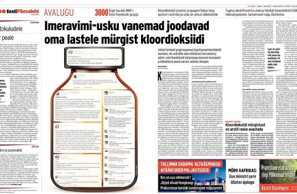 Eesti Päevaleht 17.09.2015