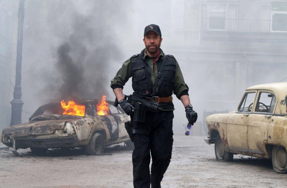 Chuck Norris filmivõtetel
