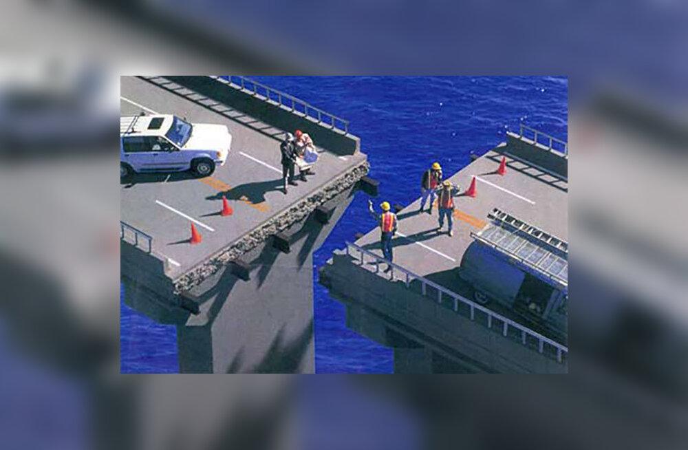 Kuidas ometigi võis silla ehitus niivõrd nihkesse minna?