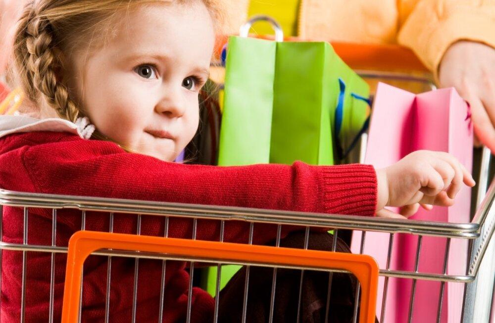 Tuleb tuttav ette? 20 põhjust, miks poeskäik mudilastega on iga lapsevanema tõeline õudusunenägu