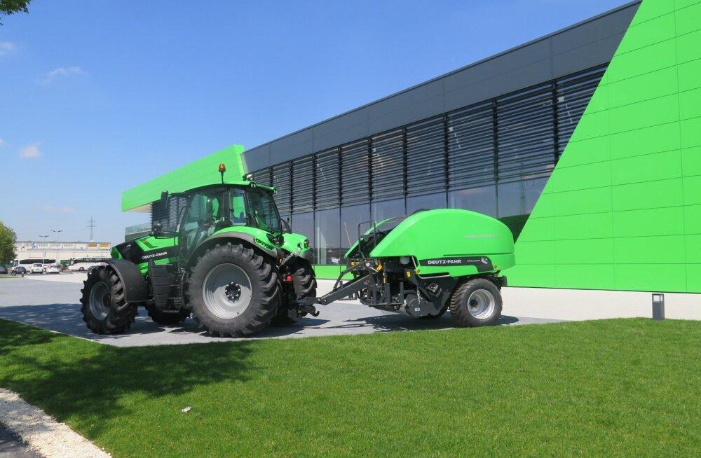 Deutz-Fahri uus traktoritehas.