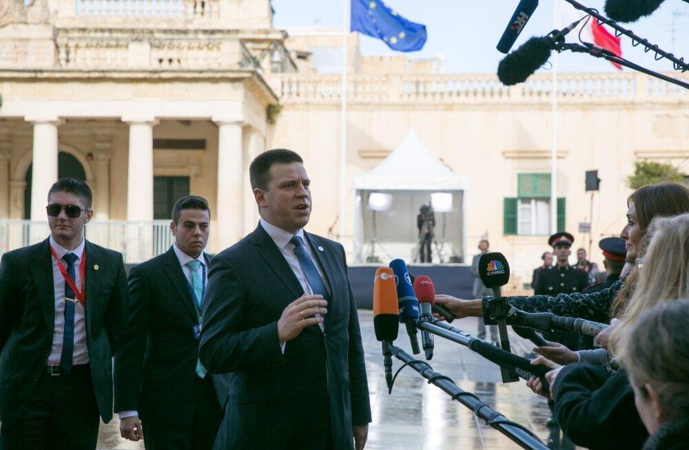 Jüri Ratas Maltal