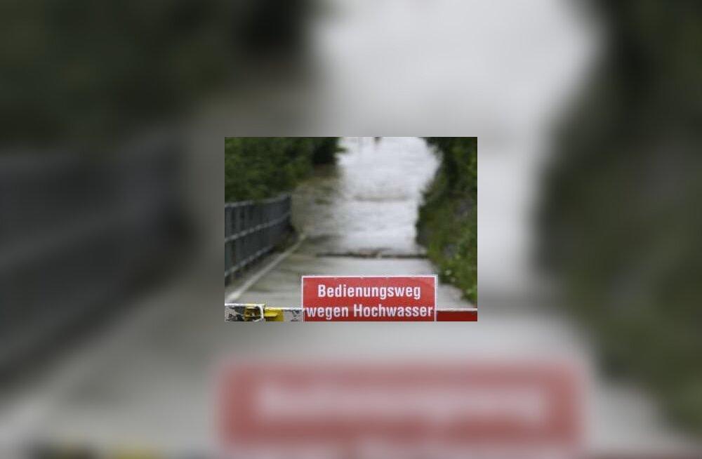 Kesk-Euroopat tabanud üleujutused nõudsid inimohvreid