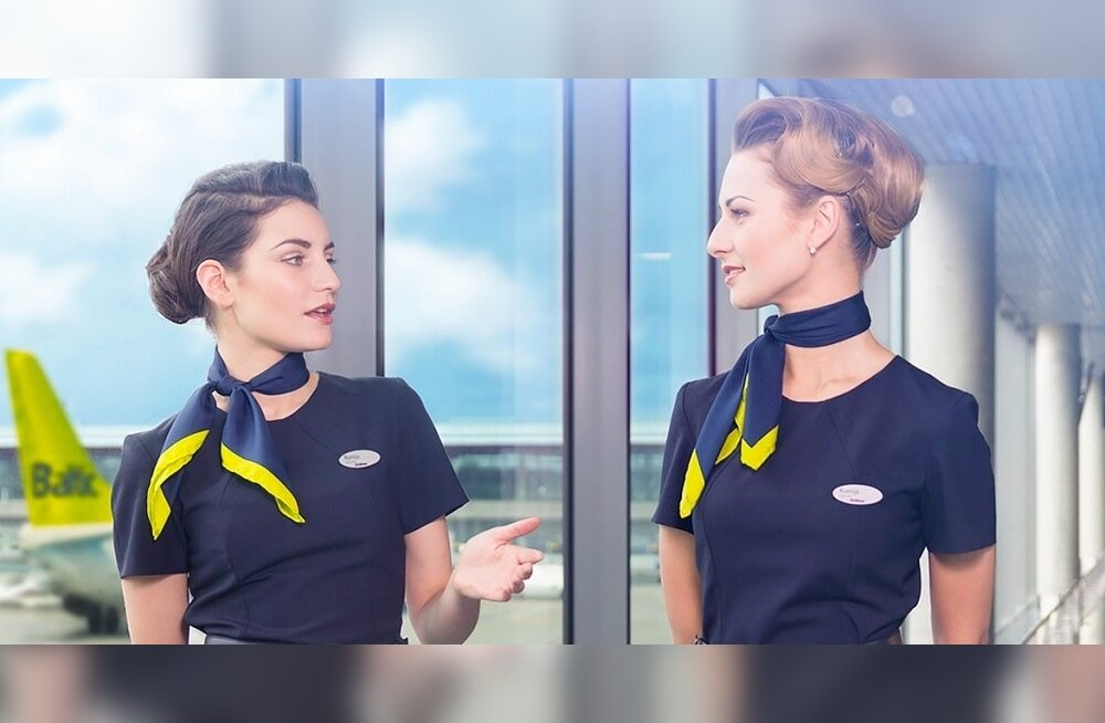 Air Balticu pardateenindajad.