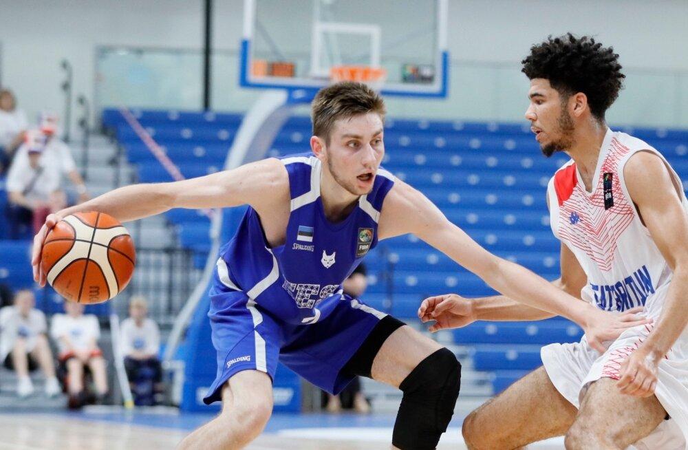 ФОТО: Эстонские юноши не сумели пробиться в финал чемпионата Европы