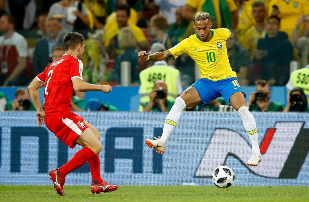 MM-i KOLUMN | Mikk Valtna: Serbial polnud mehi, kes oleksid Brasiilia liidrid mängust välja võtnud