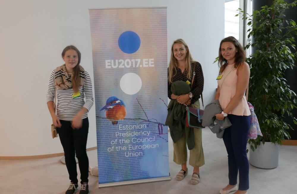 Parimate Euroopa-teadmistega Põlva koolinoored Brüsselis: meie ettekandeid tõlgiti sama põhjalikult nagu tipp-poliitikute sõnavõtte
