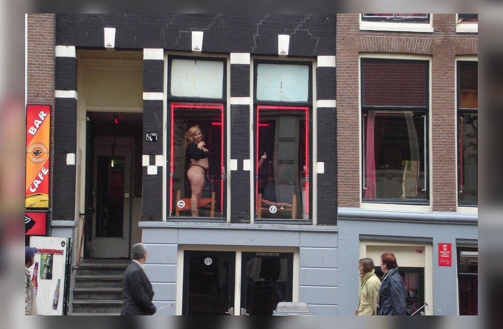 Minu Amsterdam: Punaste laternate rajooni kardinatagused