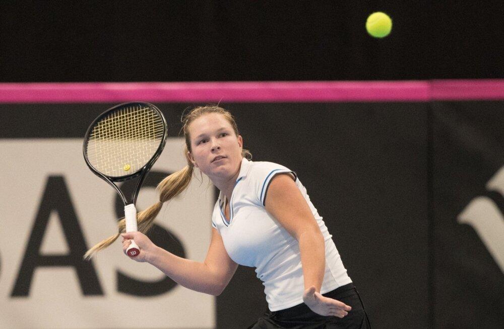Saara Orav aitas veebruaris Eesti naiskonnal Fed Cupi esiliigasse püsima jääda.